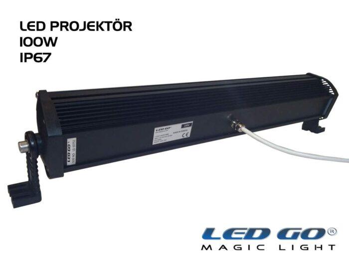 Led Go®EP-100, Elit Serisi SMDLED Projektör, 100W, 220V, IP67
